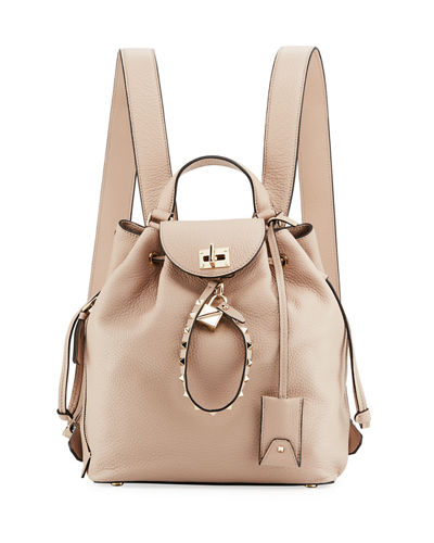 Twiny Leather Backpack