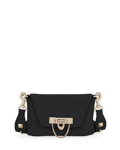 Demilune Leather Crossbody/Belt Bag