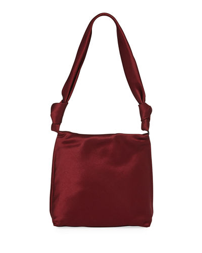 Wander Small Satin Shoulder Bag