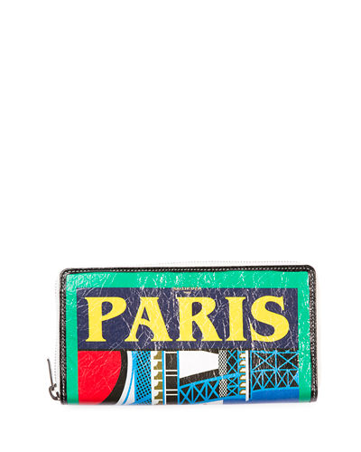Bazar London Continental Zip Wallet