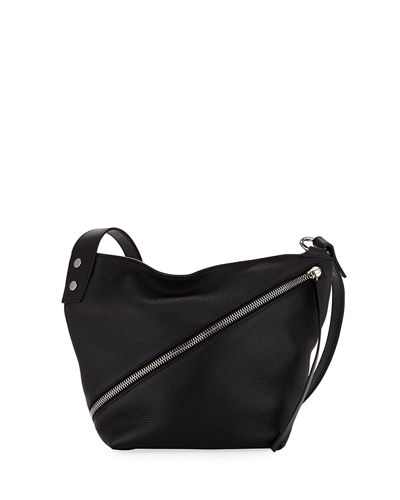Small Zip Hobo Bag