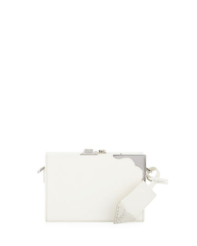 Box Mini Luxe Leather Clutch Bag