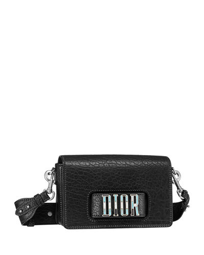 Diorevolution Canyon Grained Lambskin Handbag with Mosaic Motif Charms