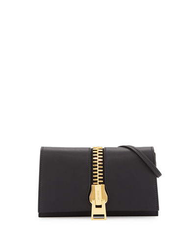 Sedgwick Leather Zip Clutch Bag