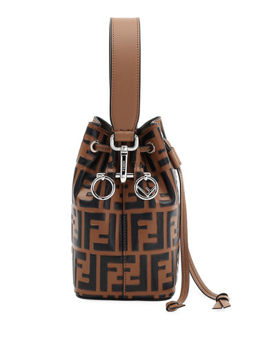 Mon Tresor Small FF Bucket Bag