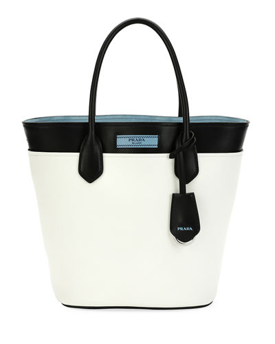 City Calf Etiquette Tote Bag