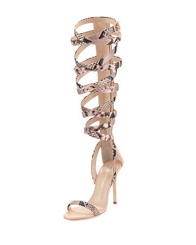 Giuseppe Zanotti for Jennifer Lopez Emme 105mm Gladiator