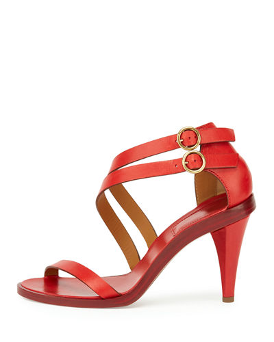 Double-Strap 80mm Sandal
