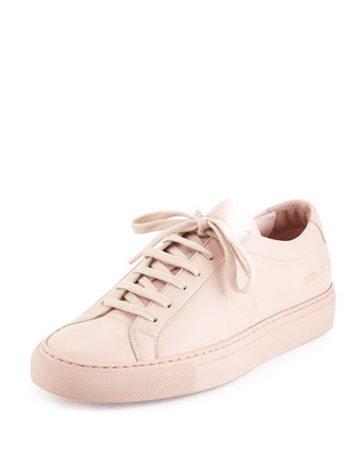 Achilles Leather Low-Top Sneaker