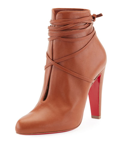 S.I.T. Rain Wrap Red Sole Bootie