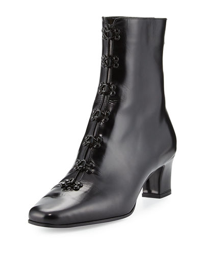 Python Patent Leather Boot