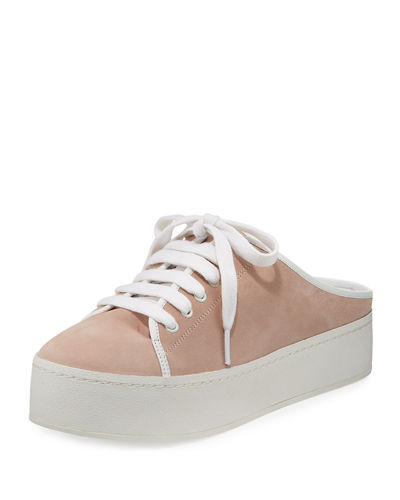 Cici Lace-Up Mule Sneaker