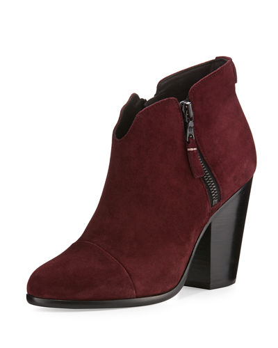 Rag & Bone Margot Suede Ankle Boot