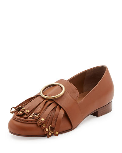 Olly Leather Kiltie Loafer