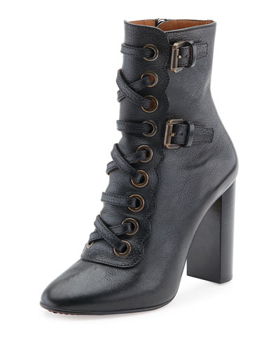 Orson Lace-Up 80mm Bootie