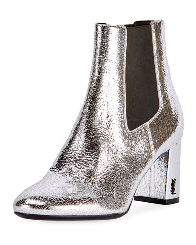 LouLou Metallic Ankle Boot