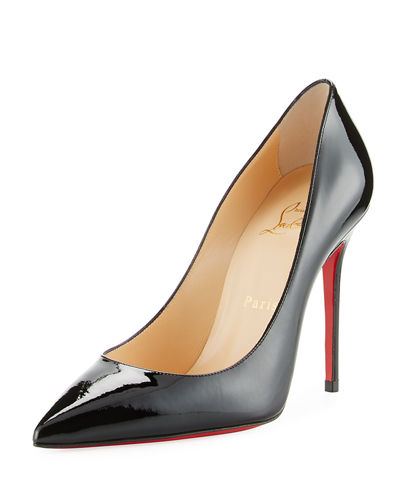 Decollette Pointed-Toe Red Sole Pump