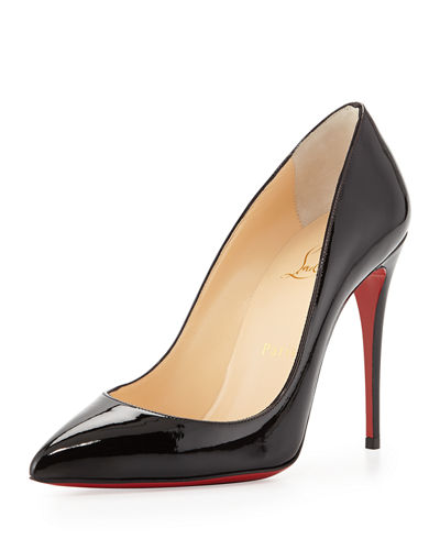 Patent Pointed-Toe Red Sole Pump