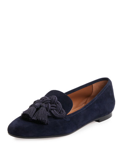 Legend Suede Tassel Loafer