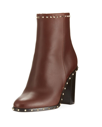 Soul Stud Leather Ankle Boot
