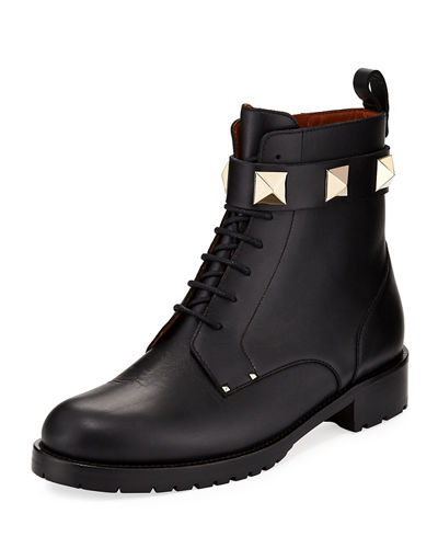 20MM LACE UP ANKLE BOOT WITH