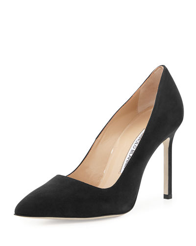 BB 105mm Suede Point-Toe Pump