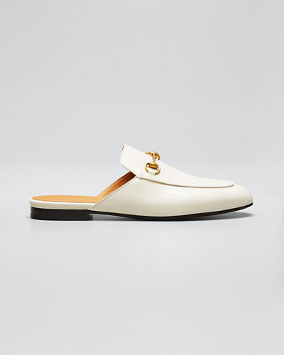 Princetown Leather Mule Loafer