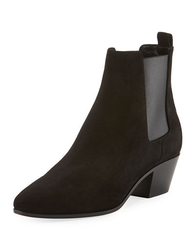 Rock Suede Chelsea Boot