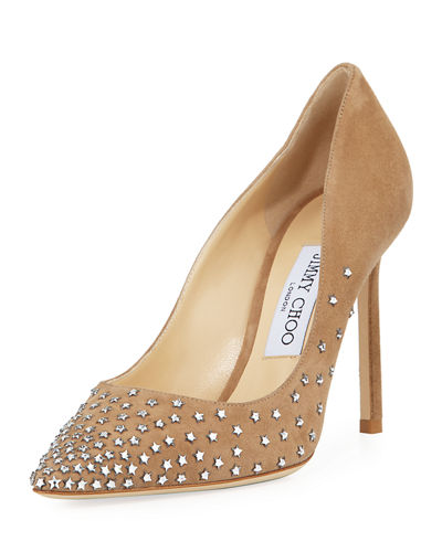 Jimmy Choo Romy Degrade Stars Suede Pump
