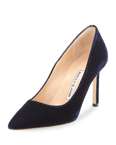 BB Velvet 90mm Pump