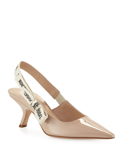 J'Adior Leather Slingback Pump