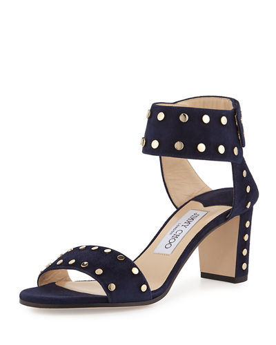 Veto Studded Suede City Sandal