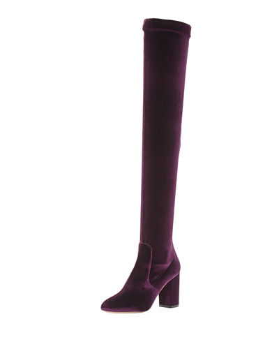 So Me Velvet Over-the-Knee Boot