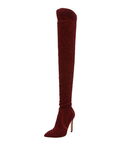 Knit Over-the-Knee Boot