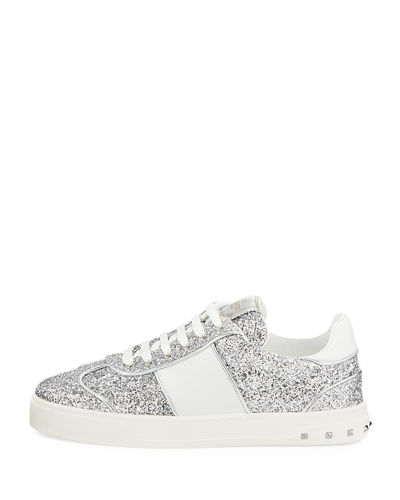Fly Crew Glittered Low-Top Sneaker
