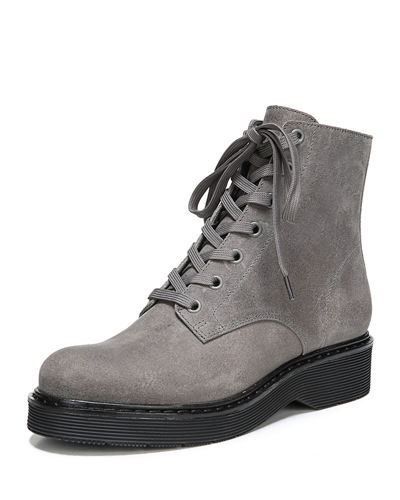 Monastir Lace-Up Suede Boot