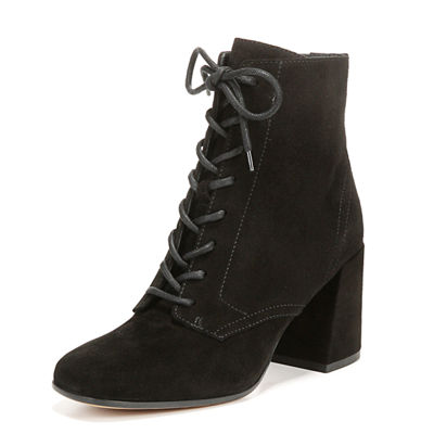 Halle Suede Lace-Up Boot