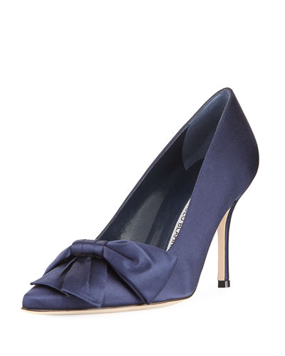Beccara Satin Bow Pump
