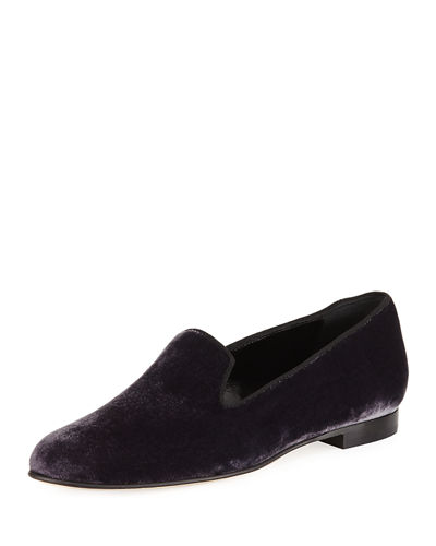 Dipla Velvet Smoking Slipper