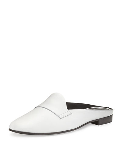 Jacno Leather Loafer Mule