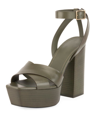 Farrah Leather Platform Sandal