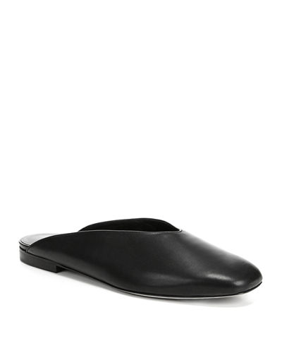 Levins Flat Leather Mule