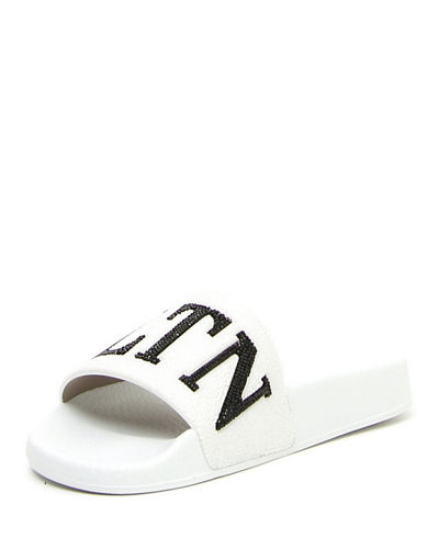 VLTN Beaded Pool Slide Sandal