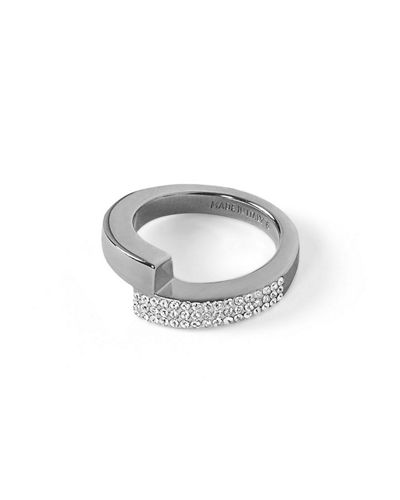 Mare Pavé Crystal Wrap Ring
