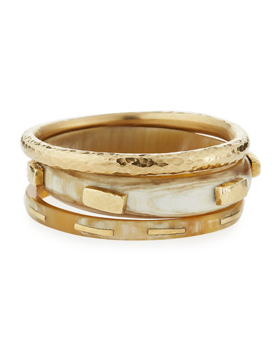 Cheza Horn Bangle Set