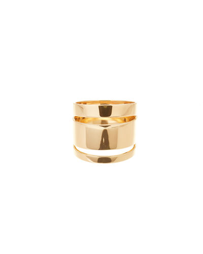 14K Gold Nude Ring