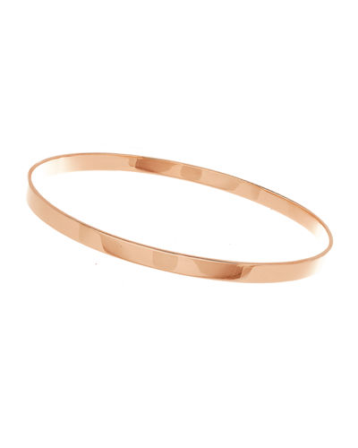 Medium 14K Gold Vanity Bangle