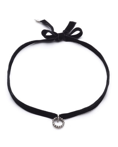 Vix Velvet Choker Necklace