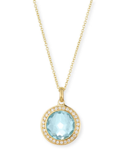 Rock Candy 18k Gold Mini Lollipop Necklace