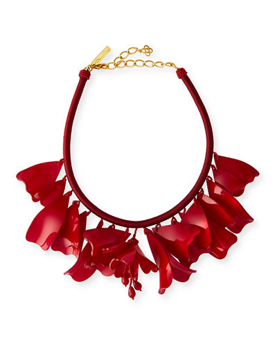 Impatiens Rope Necklace, 16